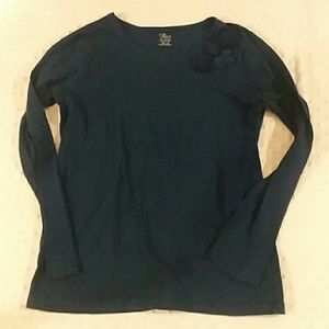 Children's Place Shirts & Tops - ☆Navy Long Sleeve Top
